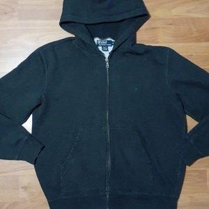 Gray Polo by Ralph Lauren full zip hoodie